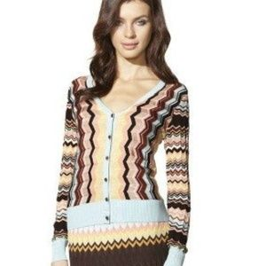 Missoni Target XL Chevron v-neck cardigan sweater